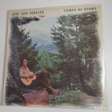 Discos de vinilo: JOSE LUIS PERALES - TIEMPO DE OTOÑO (VINILO). Lote 159605506