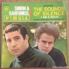 Discos de vinilo: SIMON & GARFUNKEL SOUNDS OF SILENCE EP EDIC ESPAÑA. Lote 159613350