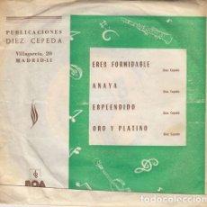 Discos de vinilo: ORQUESTA MONTERREY - ERES FORMIDABLE - SINGLE DE VINILO. Lote 159620906