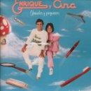 Discos de vinilo: ENRIQUE Y ANA GRANDES Y PEQUEÑOS / LP HISPAVOX DE 1983 RF-7513 , PERFECTO ESTADO. Lote 159622150