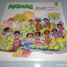 Discos de vinilo: LP 1975 MADE IN VENEZUELA - MERENGUES -ÁNGEL VILORIA Y SU CONJUNTO. Lote 159628258