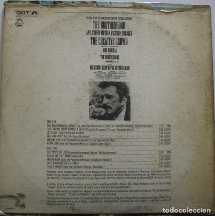 Discos de vinilo: MAFIA. THE BROTHERHOOD. ROMEO Y JULIETA. ARTISTAS Y MODELOS Y OTROS. - Foto 2 - 159632294