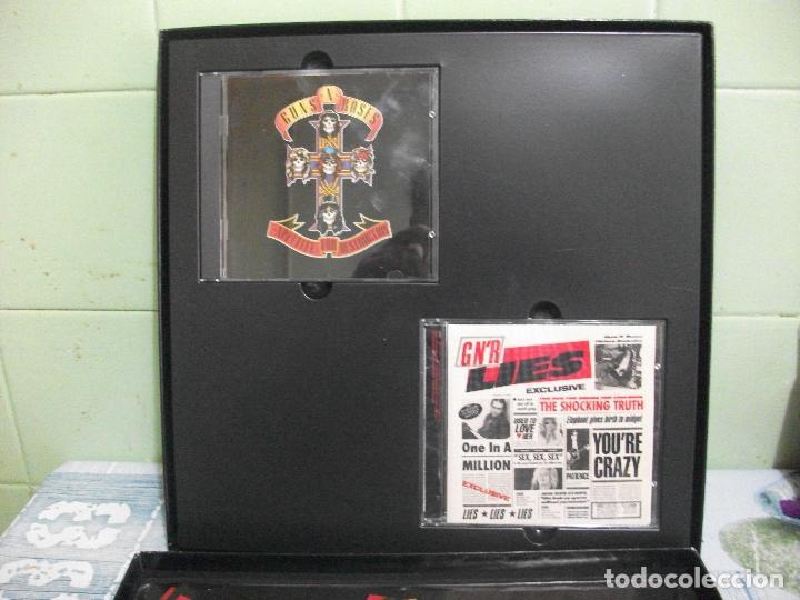 Discos de vinilo: GUNS N ROSES DESTRUCTION,LIES : THE ROAD TO box maxi + 2cds europe 1992 PEPETO TOP - Foto 6 - 192773167