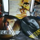 Discos de vinilo: JUSTIN BIEBER DOBLE LP PICTURE DISC BELIEVE 2012 FIRMADO POR EL. Lote 159634244