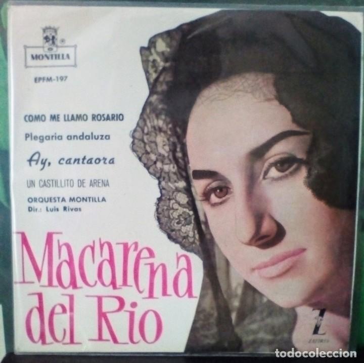 MACARENA DEL RÍO (Música - Discos de Vinilo - EPs - Flamenco, Canción española y Cuplé)