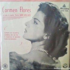 Discos de vinilo: CARMEN FLORES (HERMANA DE LOLA). Lote 159638394