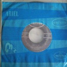 Discos de vinilo: TOÑO QUIRAZCO JAMAICA SKA / MERIDA SKA VERSIONES EN ESPAÑOL ORIGINAL MEXICO 1965 VG. Lote 159657078