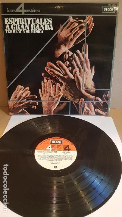 TED HEAT Y SU MÚSICA / ESPIRITUALES A GRAN BANDA / LP - DECCA-1964 / CALIDAD LUJO. ****/**** (Música - Discos - LP Vinilo - Funk, Soul y Black Music)