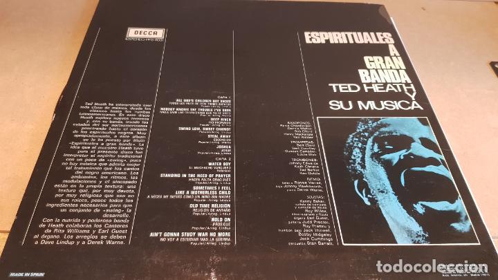 Discos de vinilo: TED HEAT Y SU MÚSICA / ESPIRITUALES A GRAN BANDA / LP - DECCA-1964 / CALIDAD LUJO. ****/**** - Foto 2 - 159663070