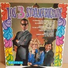 Discos de vinilo: LOS 3 SUDAMERICANOS / MISMO TÍTULO / LP - BELTER-1968 / CALIDAD LUJO. ****/****. Lote 159664370