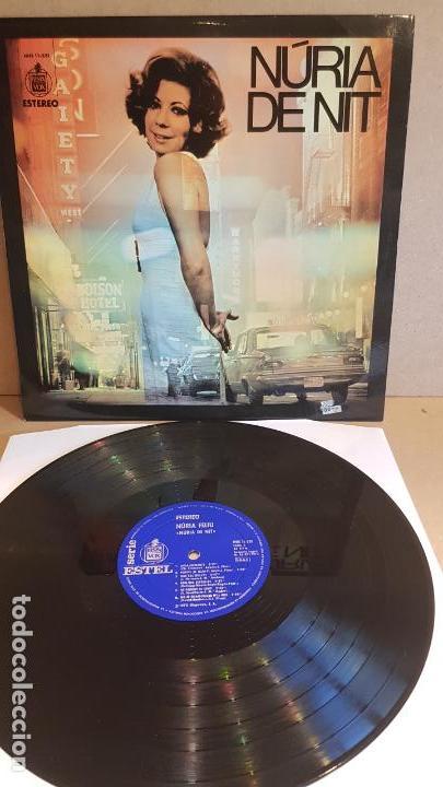 NÚRIA FELIU / NÚRIA DE NIT / LP - HISPAVOX-1972 / CALIDAD LUJO. ****/****/ ENCARTE. (Música - Discos - LP Vinilo - Solistas Españoles de los 70 a la actualidad)