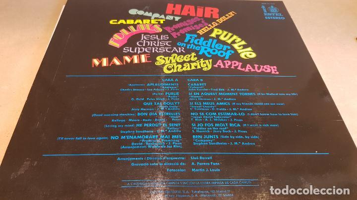 Discos de vinilo: NÚRIA FELIU / NÚRIA DE NIT / LP - HISPAVOX-1972 / CALIDAD LUJO. ****/****/ ENCARTE. - Foto 2 - 159667602