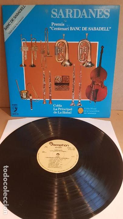 COBLA LA PRINCIPAL DE LA BISBAL / SARDANES / LP - DISCOPHON-1981 / CALIDAD LUJO. ****/**** (Música - Discos - LP Vinilo - Country y Folk)