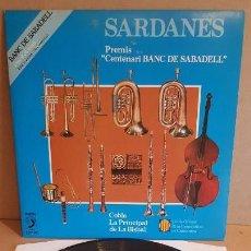 Discos de vinilo: COBLA LA PRINCIPAL DE LA BISBAL / SARDANES / LP - DISCOPHON-1981 / CALIDAD LUJO. ****/****. Lote 159667986