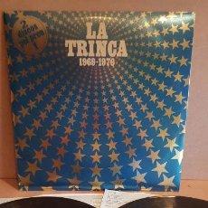 Discos de vinilo: LA TRINCA 1969-1976 / RECOPILATORIO / DOBLE LP - ARIOLA-1977 / MBC. ***/***. Lote 159669498