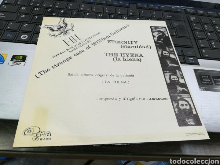 Discos de vinilo: La hiena single b.s.o. eternity españa 1973 - Foto 2 - 159671521