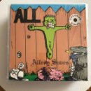 Discos de vinilo: ALL - ALLROY SAVES - LP CRUZ USA 1990 - VINILO AMARILLO . Lote 159678686