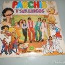 Discos de vinilo: LP 1981 CARPETA ABIERTA CON ENCARTES PARCHÍS Y SUS AMIGOS - PETETE - HORACIO PINCHADISCOS .... Lote 159691006