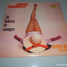 Discos de vinilo: LP 1979 - ALFRED HILL Y SU GRUPO - 20 BOLEROS DE SIEMPRE. Lote 159692246