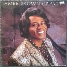Discos de vinilo: JAMES BROWN. GRAVITY. SCOTTI BROS, GERMANY 1986 LP VINILO BLANCO (INT 147.313) STEVIE RAY VAUGHAN. Lote 159695714