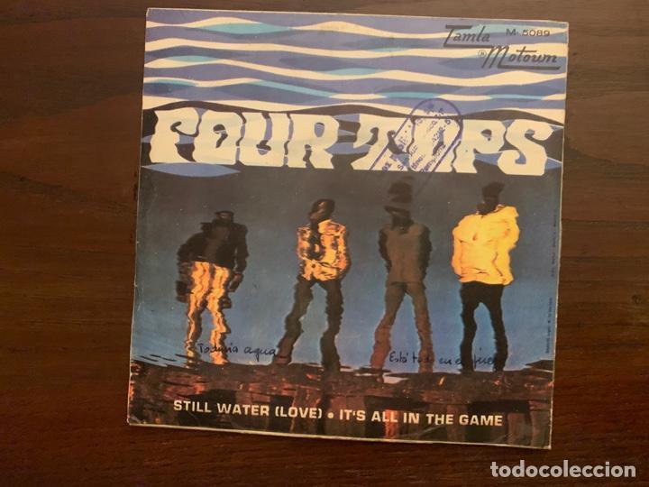 Discos de vinilo: Four Tops ?– Still Water (Love) Sello: Tamla Motown ?– M-5089 Formato: Vinyl, 7 , 45 RPM, Single - Foto 2 - 159706058