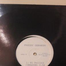 Discos de vinilo: MAXI EL POLLITO FREDDY GERARDO REP.DOMINICANA. Lote 159725798