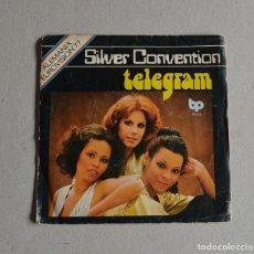 Discos de vinilo: SILVER CONVENTION - TELEGRAM. Lote 159727782