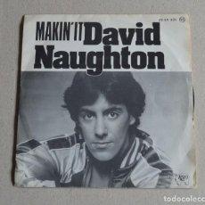 Discos de vinilo: DAVID NAUGHTON - MAKIN IT. Lote 159727950