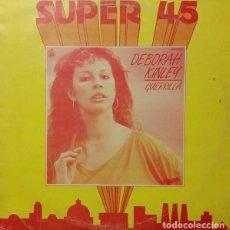 Discos de vinilo: DEBORAH KINLEY – GUERRILLA - MAXI-SINGLE HISPAVOX 1983. Lote 159730390