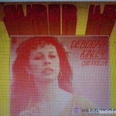 Discos de vinilo: DEBORAH KINLEY – GUERRILLA - MAXI-SINGLE HISPAVOX 1983. Lote 159731638