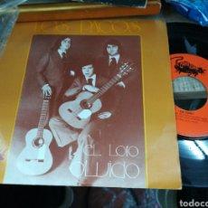 Discos de vinilo: LOS PACOS SINGLE EL LORO 1975. Lote 159733994