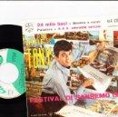 Discos de vinilo: EP LITTLE TONY FESTIVAL DI SANREMO 1961 24 MILA BACI +3 ITALY. Lote 159739662