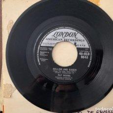 Discos de vinilo: PAT BOONE ?– QUANDO, QUANDO, QUANDO GÉNERO: LATIN, POP ESTILO: BALLAD AÑO: 1962 PISTAS QUANDO, QUAND. Lote 159744102