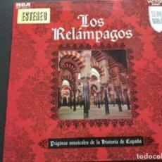 Discos de vinilo: LOS RELÁMPAGOS - PAGINAS MUSICALES DE LA HISTORIA DE ESPAÑA - SERIE NOBLE . Lote 159763730