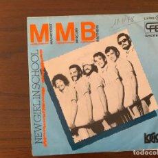 Discos de vinilo: THE MAGNIFICENT MERCURY BROTHERS ?– NEW GIRL IN SCHOOL SELLO: LOGO ?– L-37002 FORMATO: VINYL, 7 . Lote 159764110