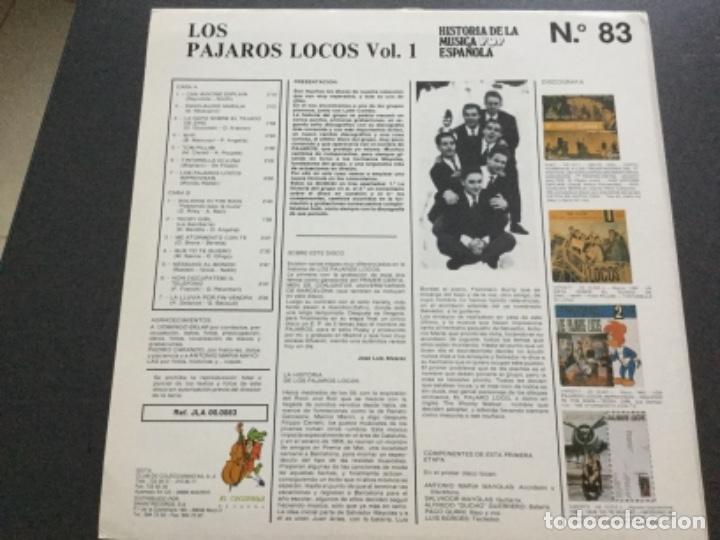 Discos de vinilo: Los Pajaros Locos . Volumen 1 - Foto 2 - 159764258