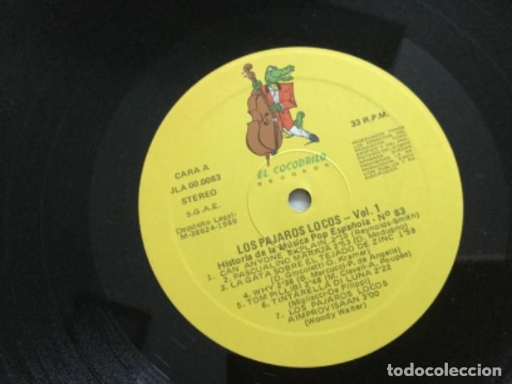 Discos de vinilo: Los Pajaros Locos . Volumen 1 - Foto 4 - 159764258