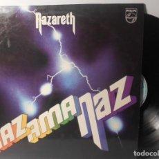 Discos de vinilo: NAZARETH RAZAMANAZ LP PHILIPS 1990 PLANETA AGOSTINI ESÀÑA. Lote 159768282