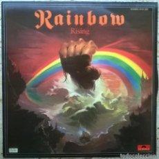 Discos de vinilo: RAINBOW. RISING. POLYDOR-OYSTER, SPAIN 1976 LP (23 91 224 ) RITCHIE BLACKMORE. Lote 159768602