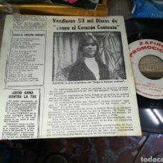 Discos de vinilo: MARISOL SINGLE PROMOCIONAL CORAZÓN CONTENTO 1968. Lote 159768417