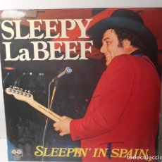 Discos de vinilo: SLEEPY LABEEF SLEEPIN IN SPAIN LP AUVI 77-2063 STEREO ESPAÑA 1979 SPAIN. Lote 159771706
