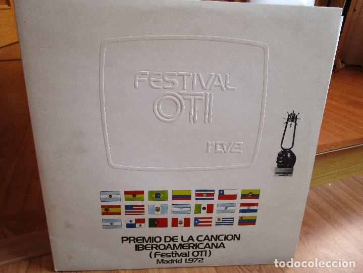 PREMIO DE LA CANCION IBEROAMERICANA ( FESTIVAL OTI ) MADRID 1.972 ( VER FOTOS ) MARISOL (Música - Discos - LP Vinilo - Otros Festivales de la Canción)