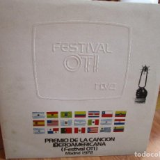 Discos de vinilo: PREMIO DE LA CANCION IBEROAMERICANA ( FESTIVAL OTI ) MADRID 1.972 ( VER FOTOS ) MARISOL. Lote 159771738