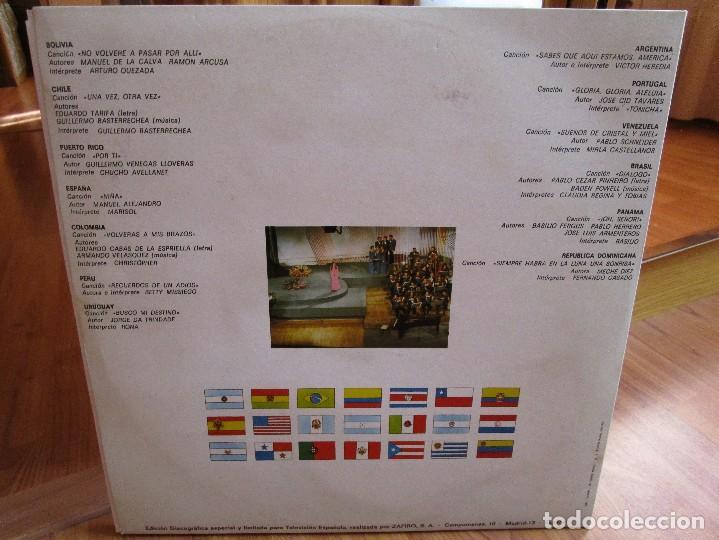 Discos de vinilo: PREMIO DE LA CANCION IBEROAMERICANA ( FESTIVAL OTI ) MADRID 1.972 ( VER FOTOS ) MARISOL - Foto 2 - 159771738