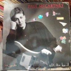 Discos de vinilo: PAUL MCCARTNEY - ALL THE BEST - DOBLE LP. Lote 159772722