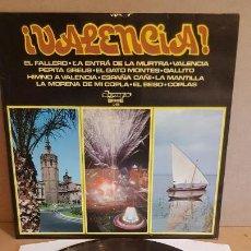 Discos de vinilo: ORQUESTA FLORIDA / VALENCIA / LP - OLYMPO-1974 / CALIDAD LUJO. ****/****. Lote 159772822