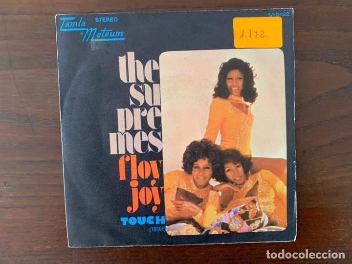 THE SUPREMES ?– FLOY JOY / TOUCH (TOQUE) SELLO: TAMLA MOTOWN ?– M-5122 FORMATO: VINYL, 7 (Música - Discos - Singles Vinilo - Funk, Soul y Black Music)