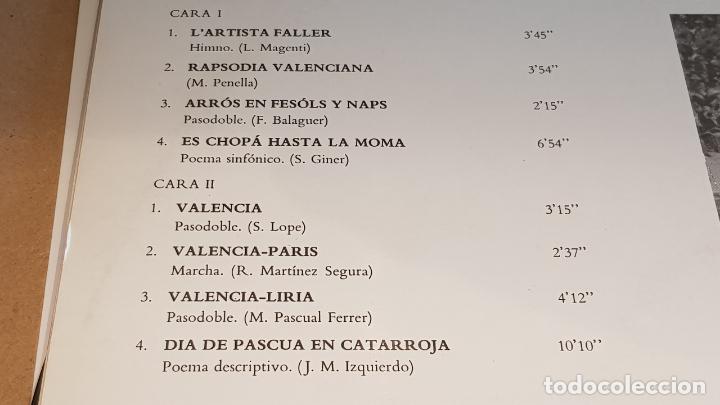 Discos de vinilo: BANDA PRIMITIVA DE LIRIA / FALLAS EN VALENCIA / LP - EMI-REGAL-1971 / VINILO DE LUJO. ***/**** - Foto 4 - 159774142
