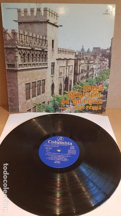 BANDA MUNICIPAL DE VALENCIA / DIR: JOSÉ FERRIZ / LP - COLUMBIA-1975 / CALIDAD LUJO. ****/**** (Música - Discos - LP Vinilo - Country y Folk)