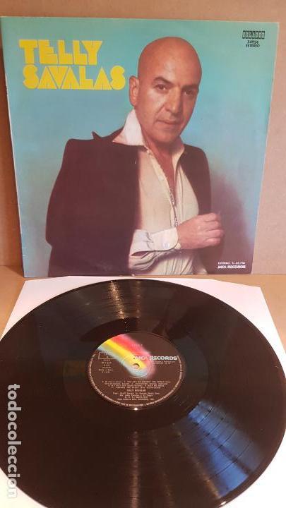 TELLY SAVALAS / MISMO TÍTULO / LP - MCA RECORDS-1975 / MBC. ***/*** (Música - Discos - LP Vinilo - Pop - Rock - Extranjero de los 70)